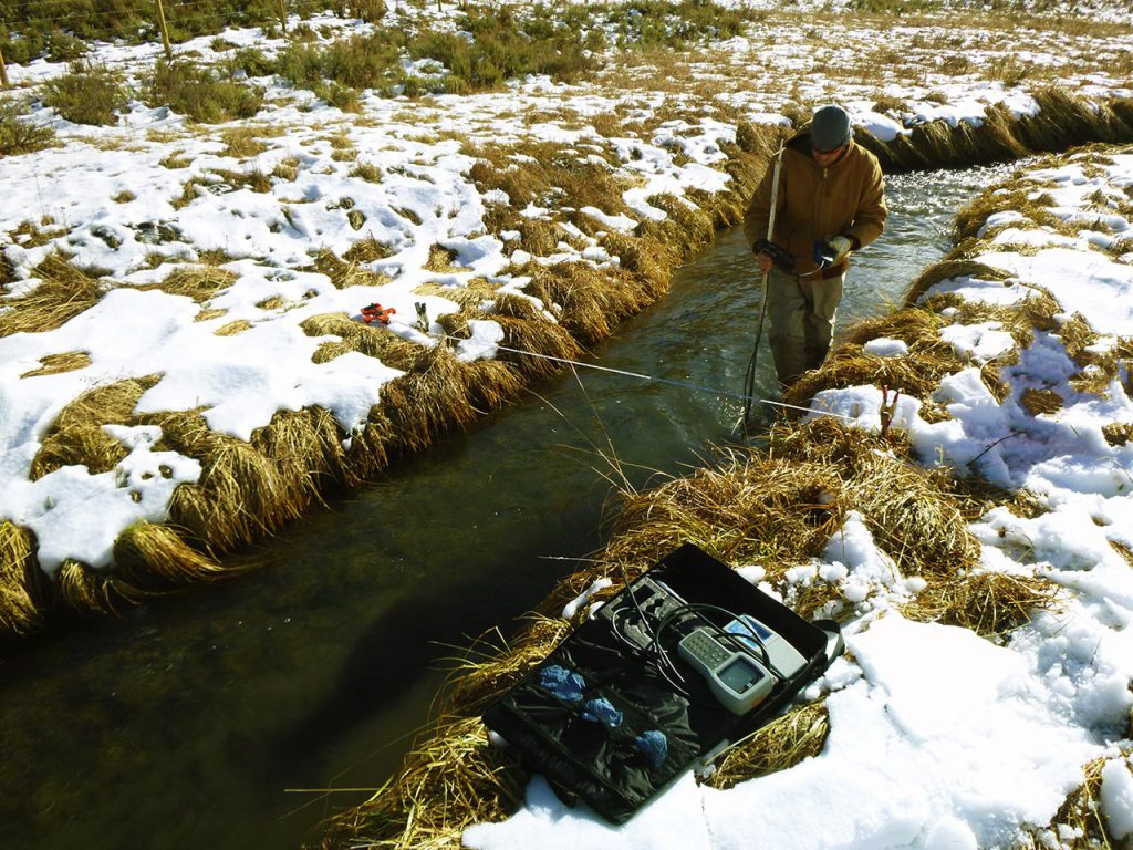 Stream Flow Gauging, ID